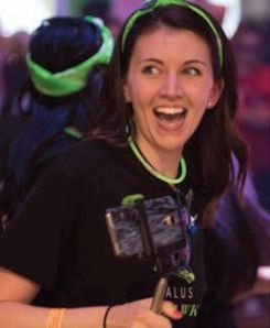 Nicole Rist, winner of The Varilux Optometry Student Bowl